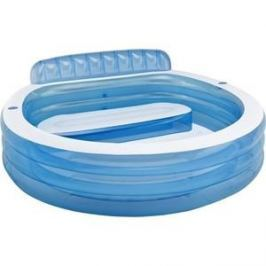 Надувной бассейн Intex семейный с сиденьем и спинкой с57190