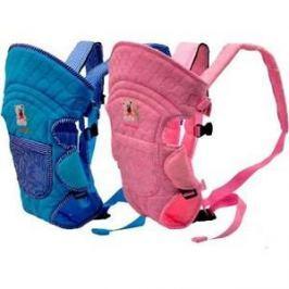 Сумка-кенгуру Baby Care HS-3184, (pink) (HS-3184)