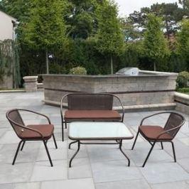 Комплект мебели из  искуственного ротанга Afina garden TLH-037/037D/40S brown
