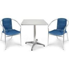 Комплект мебели Afina garden LFT-3199E/T3125-60x60 blue (2+1)