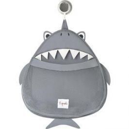 3 Sprouts Органайзер для ванной Акула (Grey Shark) (00011)