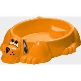 Песочница-бассейн Marian Plast (Palplay) Собачка (оранжевый) 373