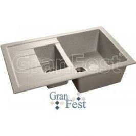 Мойка кухонная GranFest гранит 770x495 (Gf-Q775KL серая)