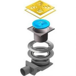 Душевой трап Pestan Square 4 Gold 150 мм (13000147)