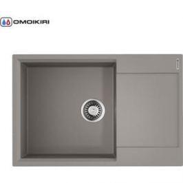 Мойка кухонная Omoikiri Daisen 78-LB-GR, 780*510 Leningrad Grey (4993690)