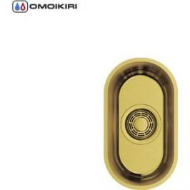 Мойка кухонная Omoikiri Omi 16-U-AB, 178*316, античная латунь (4993484)