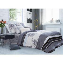 Комплект постельного белья TIFFANY'S secret 1,5 сп, сатин, Туманный рассвет n50
