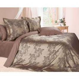 Комплект постельного белья Ecotex Семейный, сатин-жаккард, Флокатти (КЭДчФлокатти)