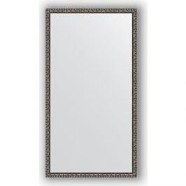 Зеркало в багетной раме поворотное Evoform Definite 70x130 см, черненое серебро 38 мм (BY 1093)