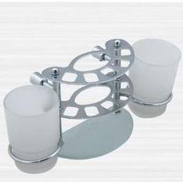 Держатель зубных счеток RainBowL Aqua к стене (стекло) (0039-4)
