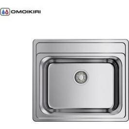 Мойка кухонная Omoikiri Ashi 56-IN, 560*480, нержавеющая сталь (4993449)