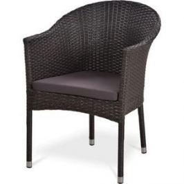 Кресло из искуственного ротанга Afina garden Y350B-W51 brown