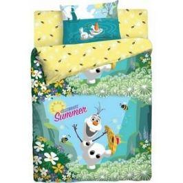 Детское полутороспальное постельное белье Disney Холодное Сердце