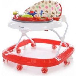 Ходунки Baby Care Sonic (GL-6000S2) Белый/Красный (White/Red)
