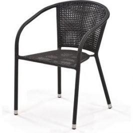 Кресло из искуственного ротанга Afina garden Y137B dark brown