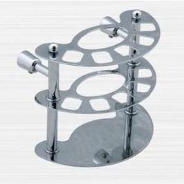 Держатель зубных счеток RainBowL Aqua к стене (хром) (0039-1)