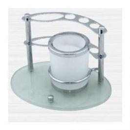Держатель зубных счеток RainBowL Aqua настольный с двигающимся стаканом (0039-6)