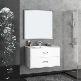 Зеркало Smile Монтэ 90 белый (Z0000012451)