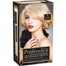 L'OREAL Preference Краска для волос тон 9 Голливуд