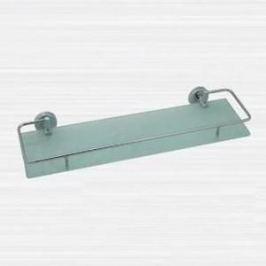 Полка RainBowL Long стекло 50 см с ограничителем (2253-1)