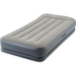 Надувная кровать Intex Mid-Rice Airbed 99х191х30 см встроенный насос 220V 64116