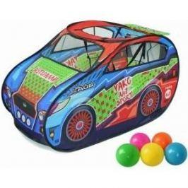 Палатка игровая Наша Игрушка Авторалли, в комплекте пластмассовые шарики 20 шт., сумка на молнии