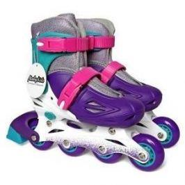 Роликовые коньки Moby Kids р 34-37 фиолетовый 641007