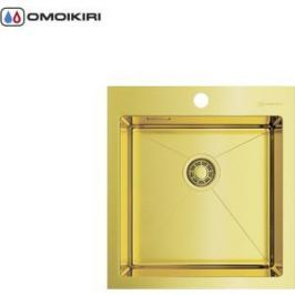 Мойка кухонная Omoikiri Akisame 46-LG, 460*510, светлое золото (4973081)