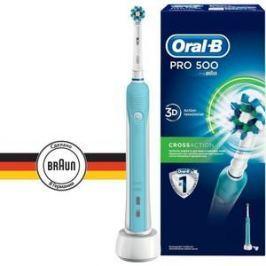 Зубная щетка Braun Oral-B Professional Clean professional care 500 голубой