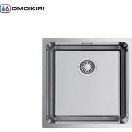Мойка кухонная Omoikiri Tadzava 44-U-IN Quadro, 440*440, нержавеющая сталь (4993509)
