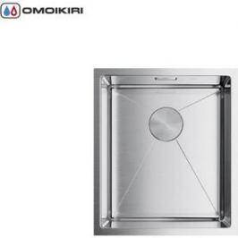 Мойка кухонная Omoikiri Taki 38-U/IF-IN, 380*440, нержавеющая сталь (4973043)