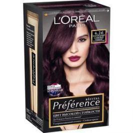 L'OREAL Preference Краска для волос тон 4.26 Благородный сливовый