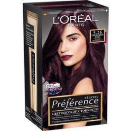 L'OREAL Preference Краска для волос тон 5.26 Изысканный бордо