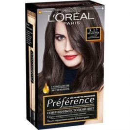 L'OREAL Preference Краска для волос тон 3.12 Мулен руж