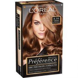 L'OREAL Preference Краска для волос тон 6.35 гавана