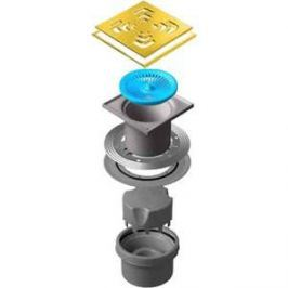 Душевой трап Pestan Vertical Square Gold 150 мм (13000165)
