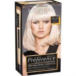 L'OREAL Preference Краска для волос тон 10.21 Стокгольм