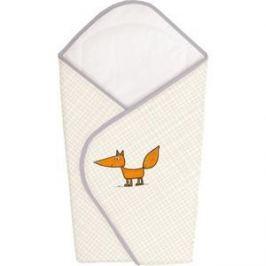 Одеяло-конверт Ceba Baby Fox ecru вышивка W-810-059-170