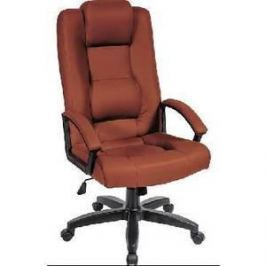 Кресло Алвест AV 127 PL (681Н) MK эко кожа 220 коньяк