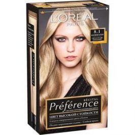 L'OREAL Preference Краска для волос тон 8.1 Копенгаген