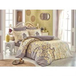Комплект постельного белья Hobby home collection Евро, поплин, Mirella кофейный (1501001704)