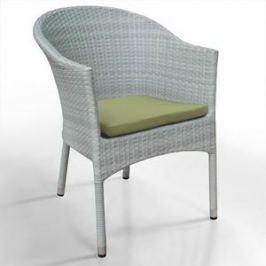 Кресло из искуственного ротанга Afina garden WS2907W white