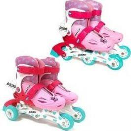 Роликовые коньки Moby Kids 2 в 1 р 30-33 розовый 641002