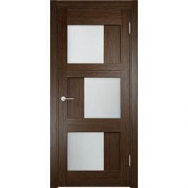 Дверь ELDORF Баден-10 остекленная 1900х550 экошпон Дуб табак