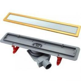 Душевой лоток Pestan White Glass Gold Line 300 мм (13100088)