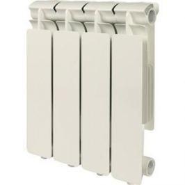 Радиатор отопления STOUT Bravo 350 4 секции алюминиевый боковое подключение