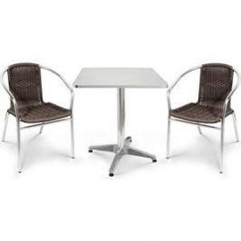 Комплект мебели Afina garden LFT-3099B/T3125-60x60 brown (2+1)