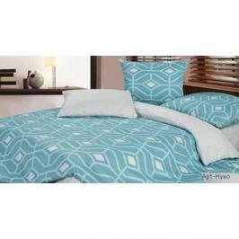Комплект постельного белья Ecotex Семейный, сатин, Арт-Нуво (КГДАрт-Нуво)