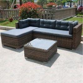 Комплект мебели из  искуственного ротанга Afina garden AFM-302 brown/grey