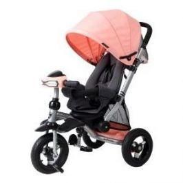 Велосипед 3-х колесный Moby Kids Велосипед-коляска 3кол Stroller trike 10x10 AIR Car персик 641075